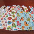 Children's Bibs - Various Patterns for Boys & Girls