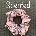 Unicorn Scrunchie, Bubblegum Scrunchie, Friendship Scrunchie, Scented  Scrunchie