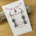 "Silver ""by the sea"" Earrings"
