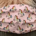 Face Mask Unicorn Childs, Face Mask with Filter Pocket Fabric Face Mask