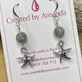 """Silver """"by the sea"""" Earrings"""