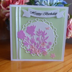 FEMALE BIRTHDAY CARD   ( FREE POSTAGE )
