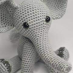 Eli the Elephant - Grey Toes