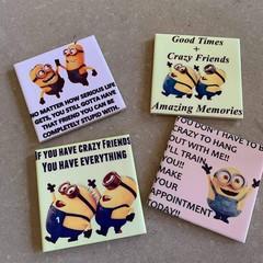 Minions coasters