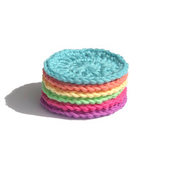 Re-usable face scrubbies. 100% Australian Cotton. Strong and thick.