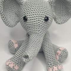 Eli the Elephant - Pink Toes