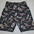 Aussie Lizards Novelty Casual Shorts