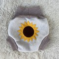 Extra Large Sunflower Wool Nappy Cover