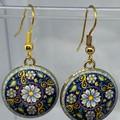 Traditional Flower Earrings