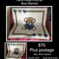 Baby Bear Blanket Crochet
