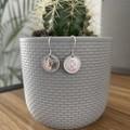 Australian Threepence Hook Earrings (V2). *925 silver french Hooks