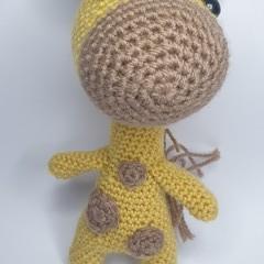 Mini Mustard Giraffe