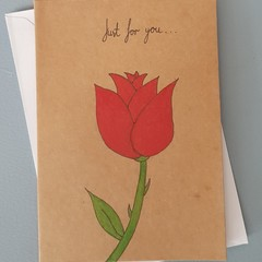 Rose Anniversary Card