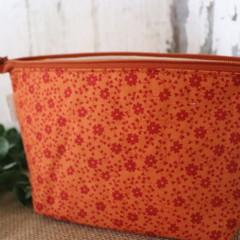 Toiletry bag- Orange