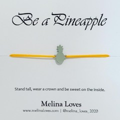 Bracelet - Pineapple - Stainless Steel