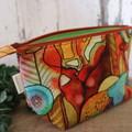 Toiletry bag- Crazy Garden