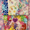 Care Bears 4 pack dish cloths / unpaper towels