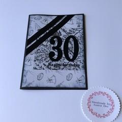 30th Male Birthday Card