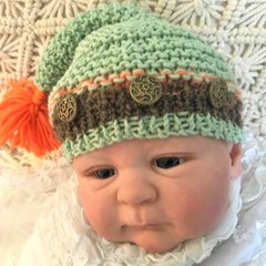Pixie BEANIE for Baby/Doll
