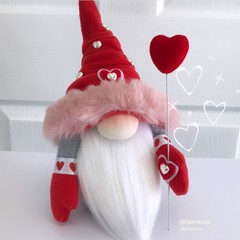Gnome | Valentine | Red Hat| H: 34cm