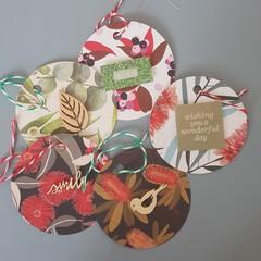 Australian flowers gift tags 5