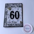 60th Male Birthday Card