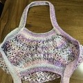 100% Cotton Crochet Market Bag
