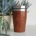 Jarrah Wood travel cup,  Re-reusable cup, Wood Gift, Coffee Mug