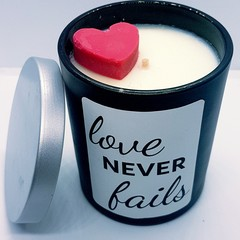Luxurious  and Scented Soy Candle for your Valentine!