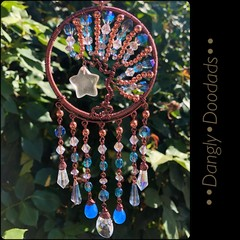 Glass TOL Suncatchers with Danglies (2x available)