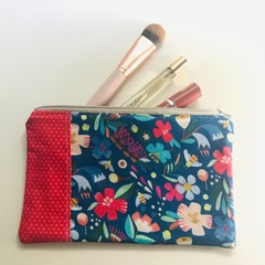 Bright flowers purse