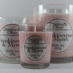 Frankincense & Myrrh | 100% Soy Wax Candle | 15/28/58 hours
