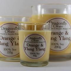 Orange & Ylang Ylang | 100% Soy Wax Candle | 15/28/58 hours