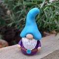 Tiny gnome - purple and blue