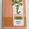 Thank You - Teacher Appreciation Handmade Card - FREE POST