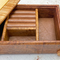 Jewellery | Keepsake | Wood Box In Tasmanian Blackwood, Mountain Ash, Huon Pine