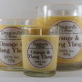 Orange & Ylang Ylang | 100% Soy Wax Candle | 15/28/58 hours