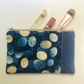 Brilliant blues purse