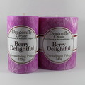 Berry Delightful | Crystallising Palm Wax Pillar Candle | 38/42 hours