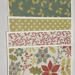 Pack of 5 Christmas Notecards
