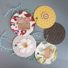 Mixed Gift tags (5)