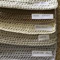 Medium Size Cotton hand crocheted wash cloth.