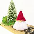 Crochet Mushroom Gnome