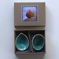 Small Duo Shell Dipping Bowls