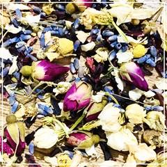 Dried Floral Sensory Base