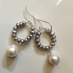 Silver Mist Earrings
