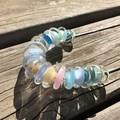 Handmade Glass Lampwork Beaded Necklace Long