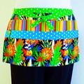 Preschool teacher utility lined apron - 6 pockets - Jungle Lions