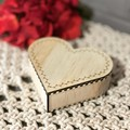 Personalised Small Heart Giftbox (13x12x4cm)