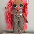 LOL OMG BRATZ Doll Clothes-playsuit & capelet